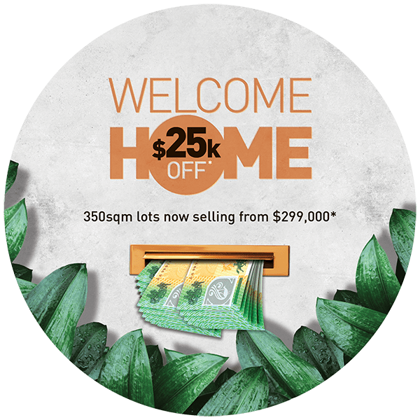 $25k Off lots at Arramont